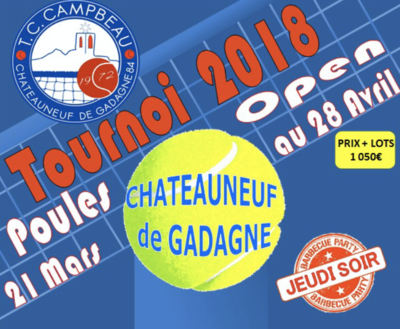 Tournoi Open du TC Campbeau