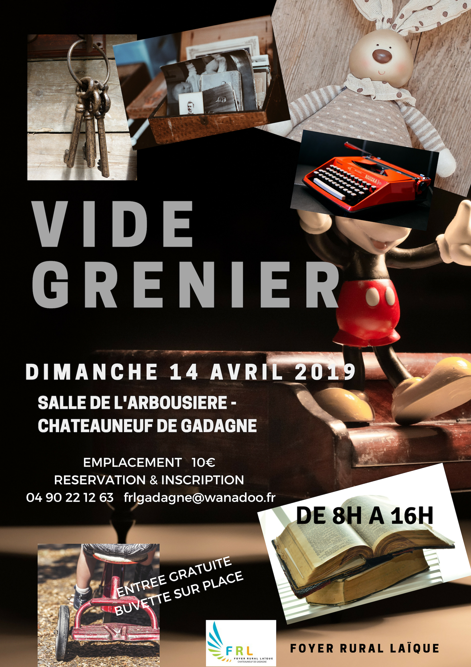 Vide Grenier Chateauneuf De Gadagne