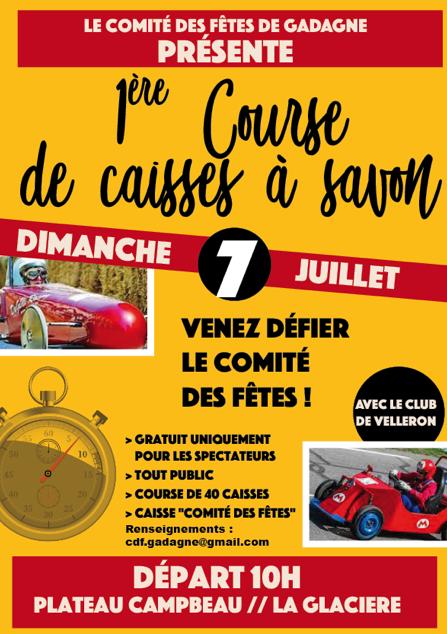 Calendrier Course Caisse A Savon 2021 Course de caisses à savon